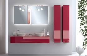 minimalist white bathroom ideas with red accents nove home