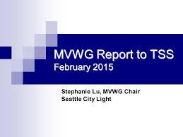 seattle city light login mvwg report to tss february 2015 stephanie lu mvwg chair seattle