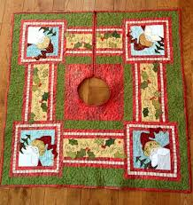Quilted Christmas Tree Skirts To Make - 160 best christmas tree skirts images on pinterest christmas