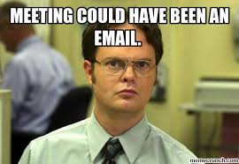 Email Meme - could have been an email
