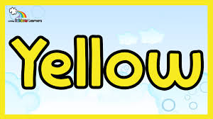 yellow color yellow video for kids the color yellow yellow for kids youtube