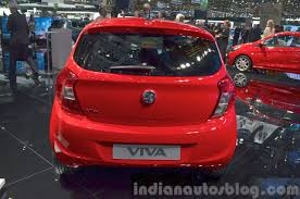 vauxhall viva vauxhall viva rear at the 2015 geneva motor show indian autos blog