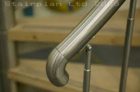 Curved Handrail Custom Made Spiral Staircases