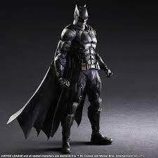 justice league batman tactical suit play arts kai figure