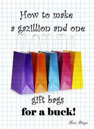 crazy cheap diy gift bags favecrafts com