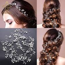 wedding hair accessories treazy imitation pearl hair band wedding hair