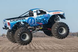 first bigfoot monster truck get ready to rumble mopar muscle pays tribute to hemi 50th