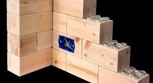 wood lego house lego like speedybrick for furnishing home or office