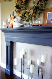 diy fireplace surround tile white marble fire mantel home mantels