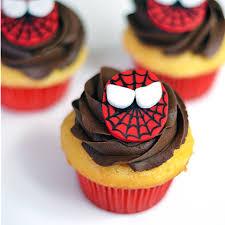 spiderman cupcakes recipe myrecipes