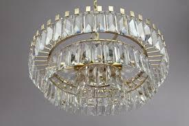 Crystal Glass Chandelier Ceiling Galerie Zeitloos