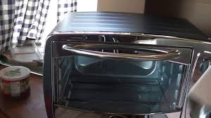 Oster 6 Slice Toaster Oven Review Oster 6 Slice Toaster Oven Unboxing Youtube