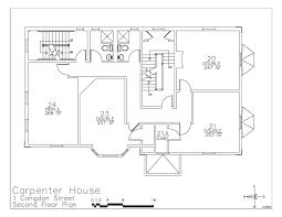 how to draw a house floor plan carpenter house floor plan u2013 risd residence life