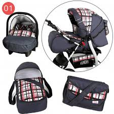 siege auto tex notice baby travel system pram pushchair volver with carrycot car seat