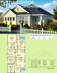 Lake Home Plans Narrow Lot by Plan 52280wm Narrow Lot Cottage House Plan Architectural Design