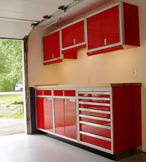 kitchen cabinets in garage wood or metal garage cabinets