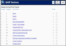 acquisition plan template quality assurance surveillance plan template 3lwhh beautiful