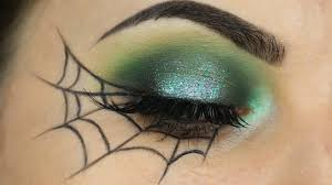 Eye Halloween Makeup by Spider Web Eyeliner Tutorial Youtube