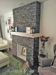 wall fireplace ideas smart contemporary unit faux stone