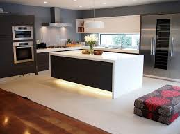 modern kitchen oven kitchen contemporary kitchen with glass backsplash wall oven
