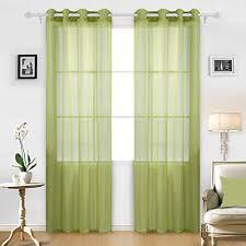 livingroom drapes green curtains for living room amazon com