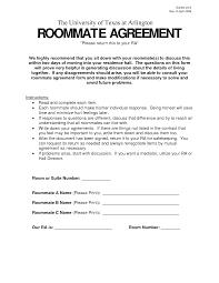 free rental agreement between roommates best resumes curiculum
