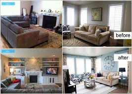 livingroom makeovers inspiring before and after living room makeovers