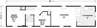 Single Wide Mobile Home Floor Plans 2 Bedroom Hermitage 14 X 56 775 Sqft Mobile Home Factory Expo Home Centers
