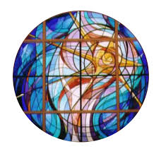 stained glass window st raphael our stain glass windows