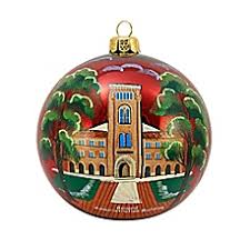 to the world collectibles collegiate tree ornaments