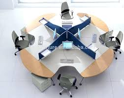 round office table and chairs awesome round office tables collection large office tables wonderful