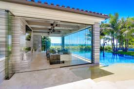 frameless folding sliding patio doors frameless sliding glass