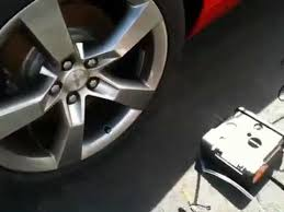 how to use the tire inflator kit on a 2012 chevy camaro 1st