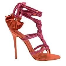 brian atwood pink yuna leather sandals for women level shoes