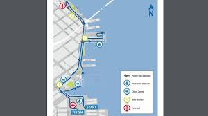 Las Vegas Traffic Map Full List San Francisco Marathon Road Closures Neighborhood