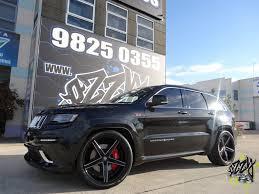 jeep white with black rims jeep grand cherokee srt ozzy tyres australia