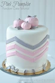 fondant cake tutorial pink pumpkin fondant cake creative juice