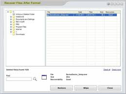 format factory yukle boxca recover files after format download