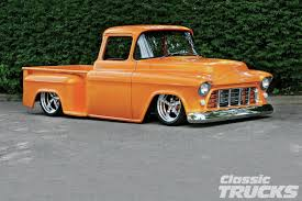 Classic Chevrolet Trucks By Year - 1955 chevy truck outrageous rod network