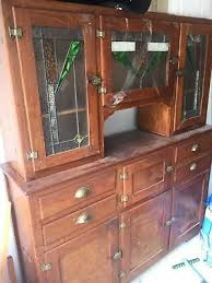 leadlight kitchen cabinets antique 1940s lead light kitchen cabinet ebay
