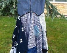 Selling Upcycled Clothing - upcycled recycled repurposed denim apron by hookinup on etsy