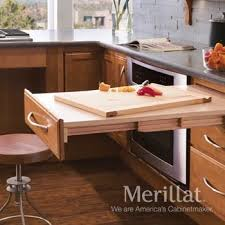 pull out table merillat masterpiece base pull out table merillat