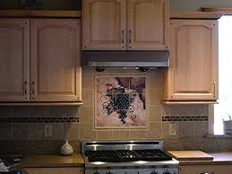 tile backsplash ideas fruit tiles tuscan grapes i tile mural