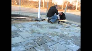Patio Paver Base Material by Brock Paver Base Test Project Youtube
