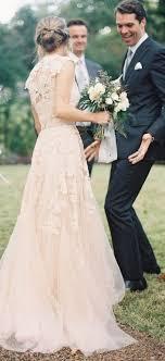 blush wedding dress with sleeves best 25 blush wedding dresses ideas on blush wedding