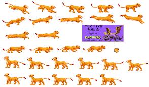 game boy advance lion king 1 1 2 nala spriters resource