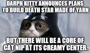 Create A Grumpy Cat Meme - grumpy cat star wars memes imgflip