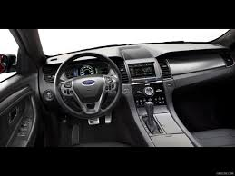 Taurus Sho Interior 2013 Ford Taurus Sho Interior Hd Wallpaper 25