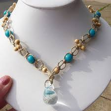 hemp necklace pendants images Best hemp necklace glass pendant products on wanelo jpg