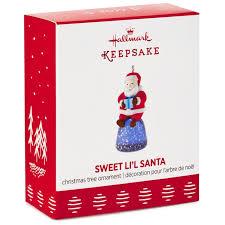 sweet li l santa gumdrop mini ornament keepsake ornaments hallmark